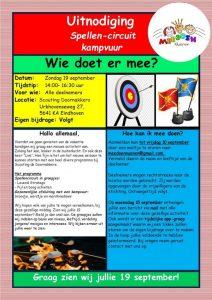 Spellen-circuit en kampvuur @ Scouting Doornakkers | Eindhoven | Noord-Brabant | Nederland